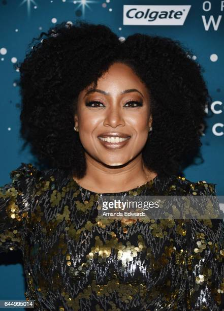 Demetria Lucas D'Oyley arrives at the Essence 10th Annual Black Women in Hollywood Awards Gala at the Beverly Wilshire Four Seasons Hotel on February...