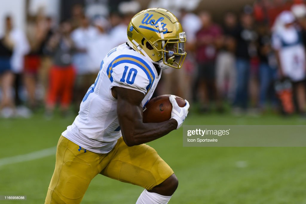 Demetric Felton during a college football game between the UCLA...  Nachrichtenfoto - Getty Images