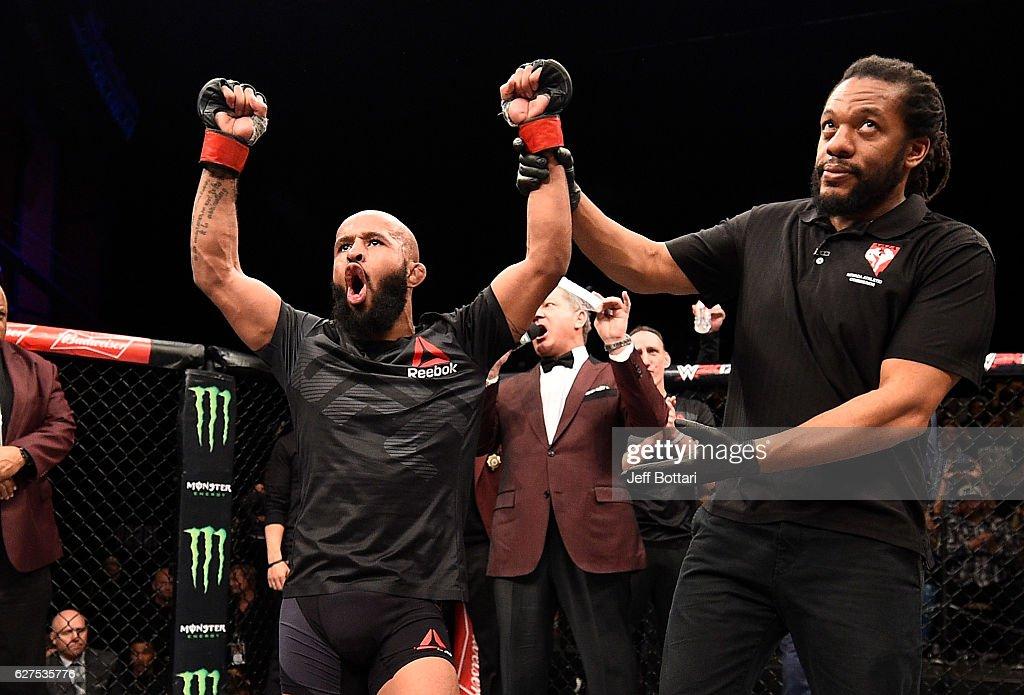 The Ultimate Fighter Finale: Johnson v Elliott : News Photo