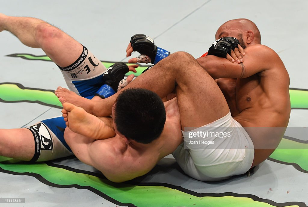 UFC 186: Johnson v Horiguchi : News Photo