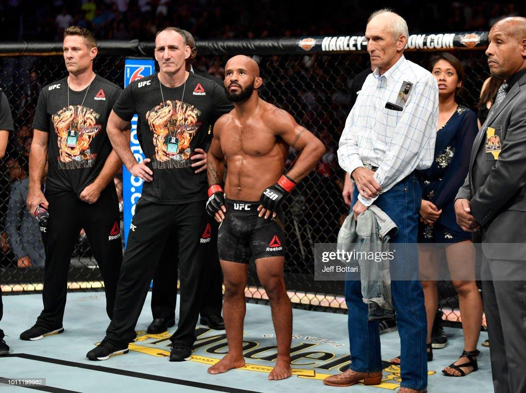 UFC 227: Johnson v Cejudo 2 : News Photo