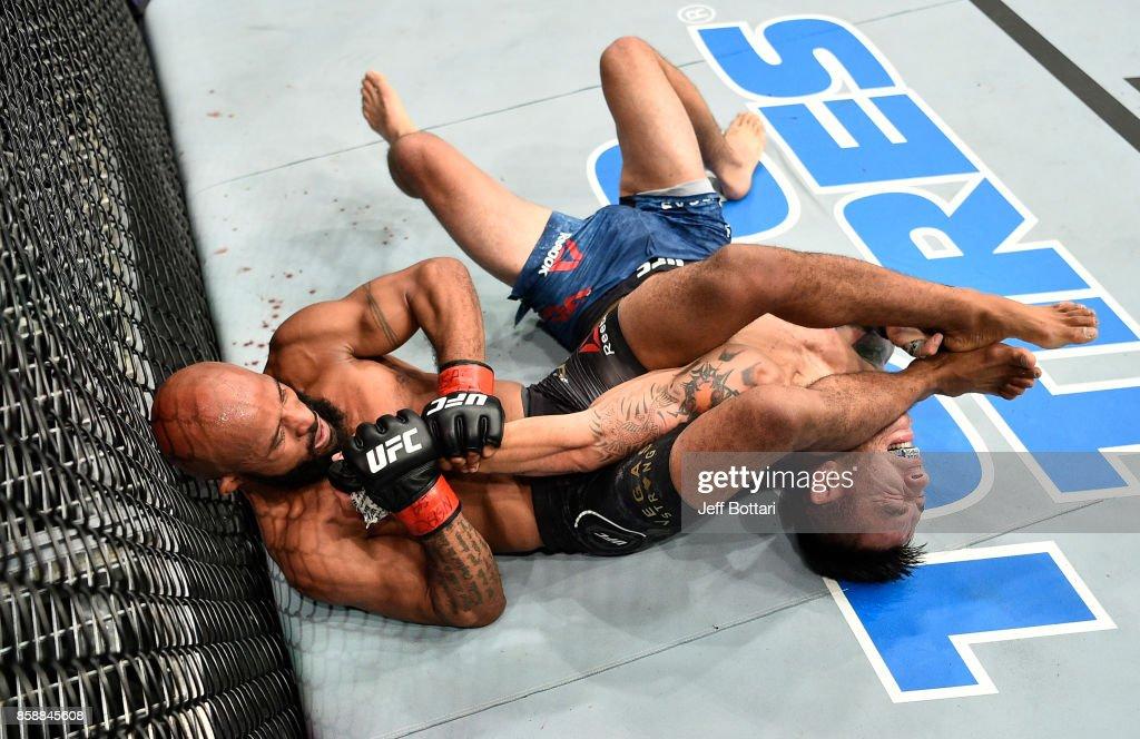 UFC 216: Johnson v Borg : News Photo