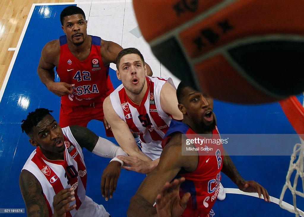 CSKA Moscow v Crvena Zvezda Telekom Belgrade - Turkish Airlines Euroleague Basketball Play Off
