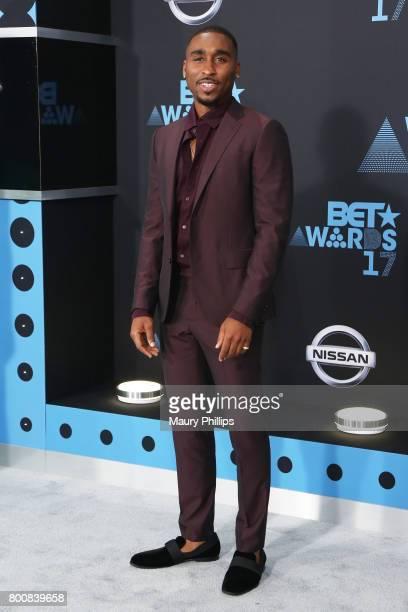 Demetrius Shipp Jr at the 2017 BET Awards at Microsoft Square on June 25 2017 in Los Angeles California