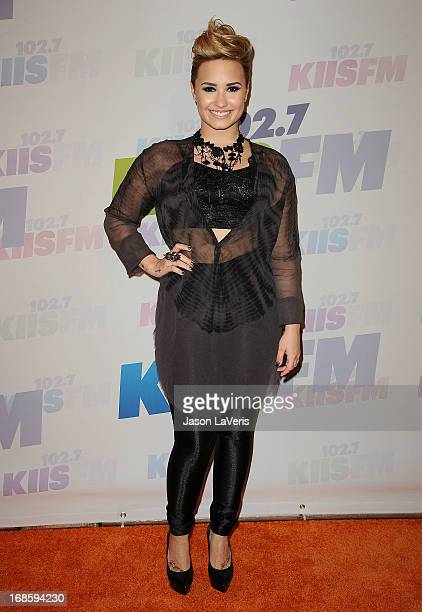 Demi Lovato attends 1027 KIIS FM's Wango Tango at The Home Depot Center on May 11 2013 in Carson California