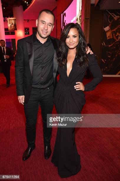 Demi Lovato attends 2017 Time 100 Gala at Jazz at Lincoln Center on April 25 2017 in New York City