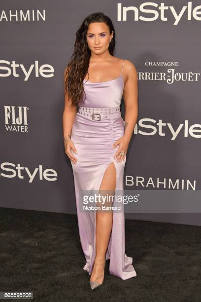 Demi Lovato attends 3rd Annual InStyle Awards at The Getty Center on October 23 2017 in Los Angeles California