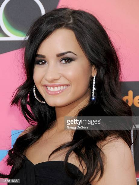Demi Lovato attends Nickelodeon's 23rd Annual Kids' Choice Awards held at Pauley Pavilion at UCLA on March 27, 2010 in Los Angeles, California.