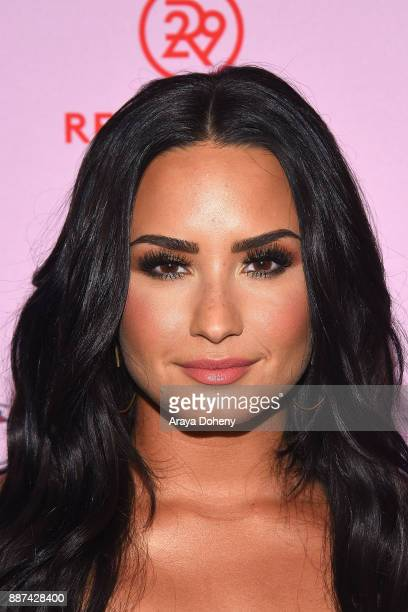 Demi Lovato attends Refinery29 29Rooms Los Angeles Turn It Into Art at ROW DTLA on December 6 2017 in Los Angeles California