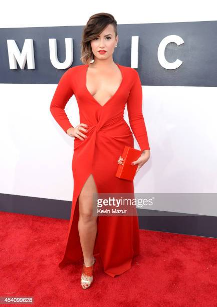 Demi Lovato attends the 2014 MTV Video Music Awards at The Forum on August 24 2014 in Inglewood California