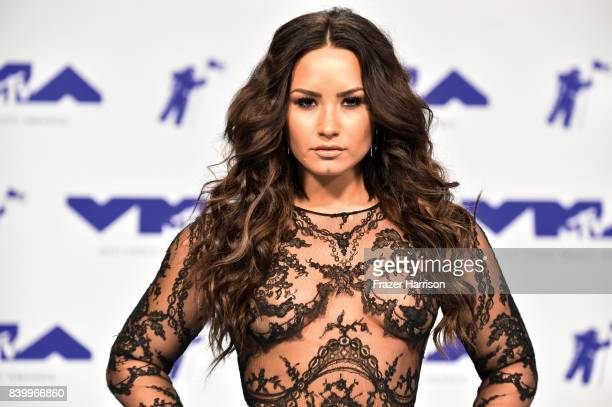 Demi Lovato attends the 2017 MTV Video Music Awards at The Forum on August 27 2017 in Inglewood California