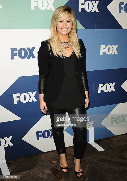 Demi Lovato attends the FOX AllStar Party on August 1 2013 in West Hollywood California