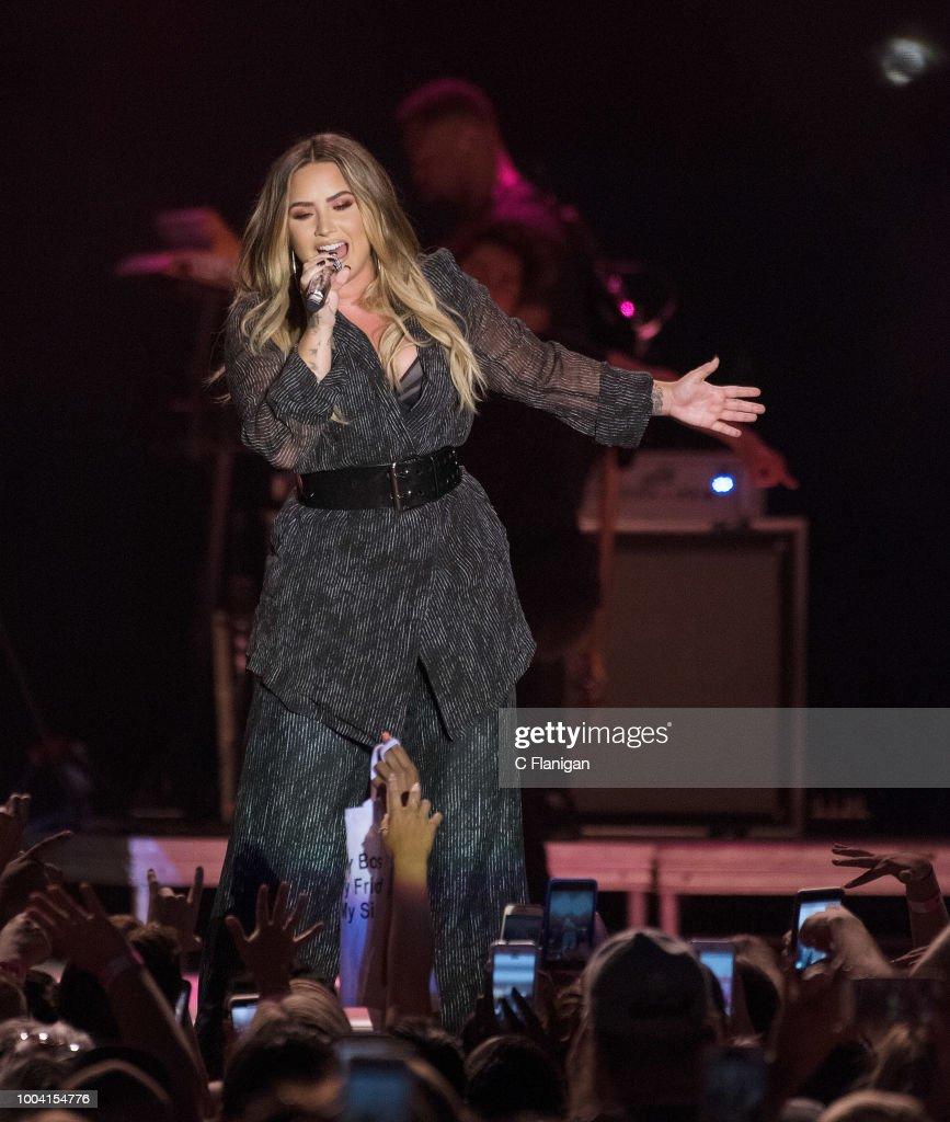 California Mid-State Fair Featuring Demi Lovato and Iggy Azalea : News Photo