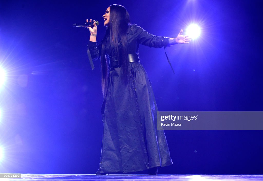Demi Lovato Performs Onstage At Tell Me You Love Me World Tour Opener At