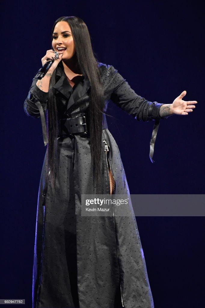 "Demi Lovato ""Tell Me You Love Me"" World Tour - Brooklyn : News Photo"