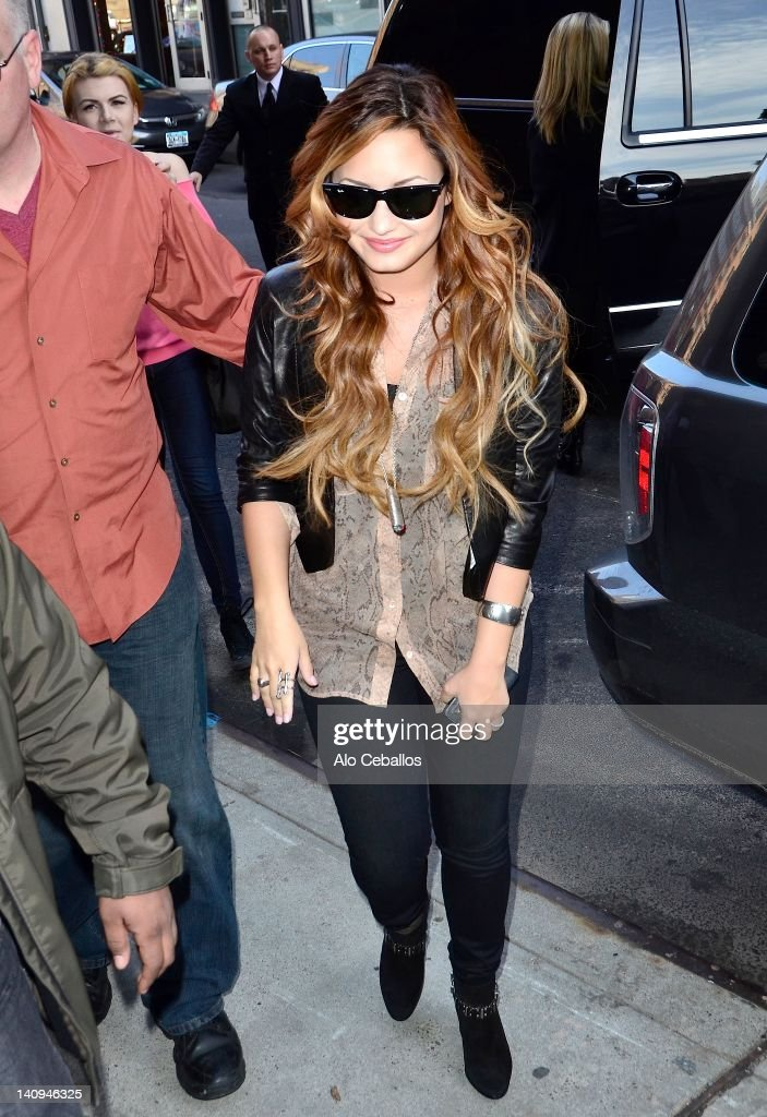 433dffceff7 Demi Lovato sighting at Streets of Manhattan on March 8