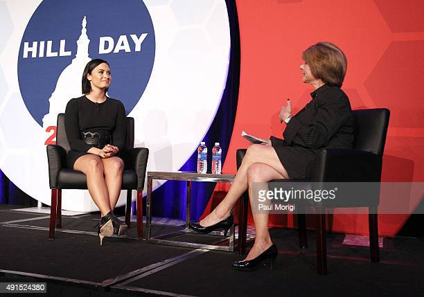 Demi Lovato speaks with Linda Rosenberg President and CEO of National Council for Behavioral Health about living with bipolar disorder and the...