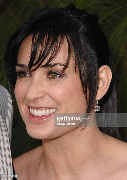 Demi Moore arrives at 7th Annual Chrysalis Butterfly Ball on May 31 2008 at a Private Residence in Los Angeles California