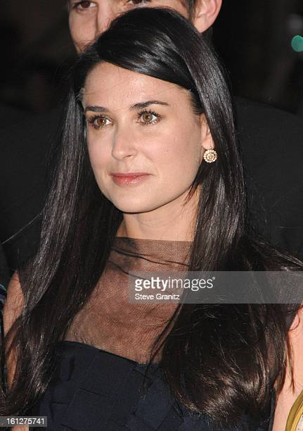 Demi Moore arrives at Sony Pictures' Premiere of House Bunny at the Mann Village Theatre on August 14 2008 in Los Angeles California
