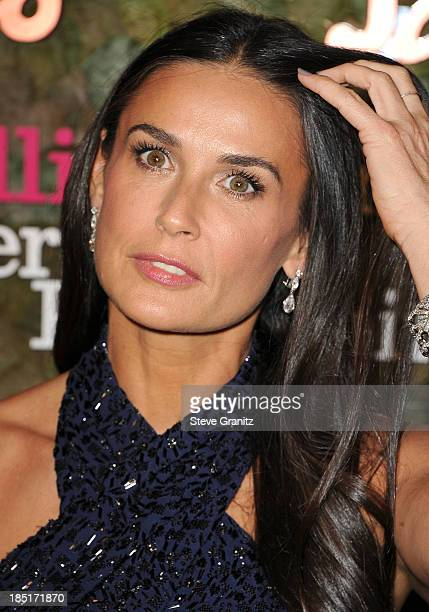 Demi Moore arrives at the Wallis Annenberg Center For The Performing Arts Inaugural Gala at Wallis Annenberg Center for the Performing Arts on...