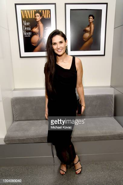 Demi Moore as the Vanity Fair And Annenberg Space For Photography Celebrate The Opening Of Vanity Fair: Hollywood Calling, Sponsored By The...