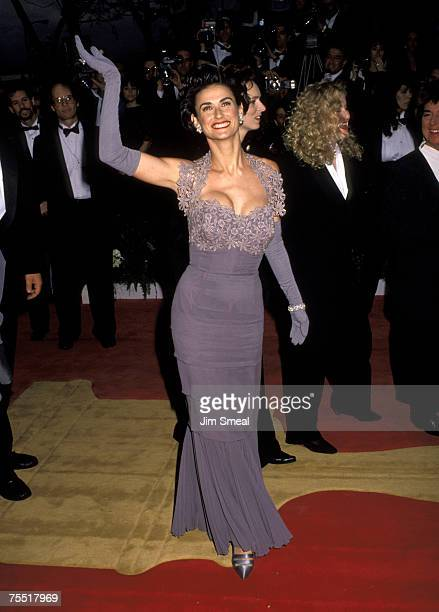Demi Moore at the Dorothy Chandler Pavilion in Los Angeles California