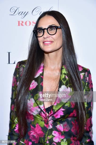 Demi Moore attends 'Blind' New York Premiere at Landmark Sunshine Cinema on June 26 2017 in New York City