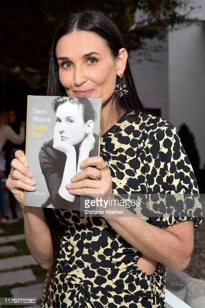 Demi Moore attends Demi Moore's 'Inside Out' book party on September 23 2019 in Los Angeles California