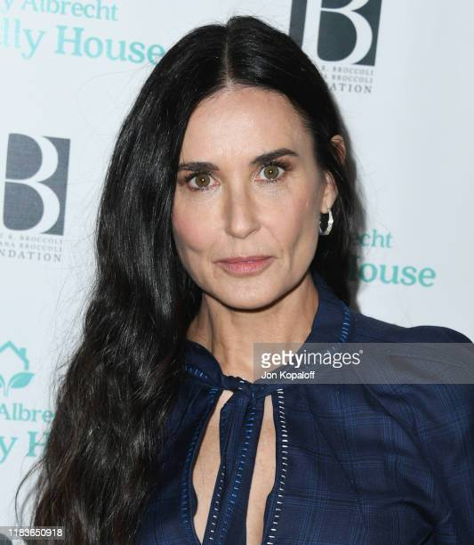 Demi Moore attends Friendly House 30th Annual Awards Luncheon at The Beverly Hilton Hotel on October 26, 2019 in Beverly Hills, California.