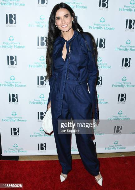Demi Moore attends Friendly House 30th Annual Awards Luncheon at The Beverly Hilton Hotel on October 26 2019 in Beverly Hills California