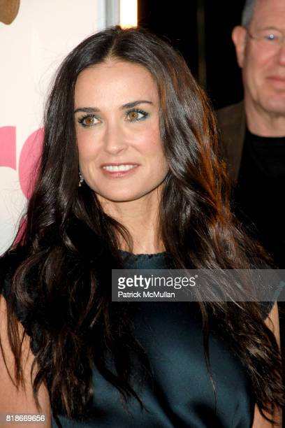 Demi Moore attends 'Killers' Los Angeles Premiere at ArcLight Cinemas on June 1 2010 in Hollywood California