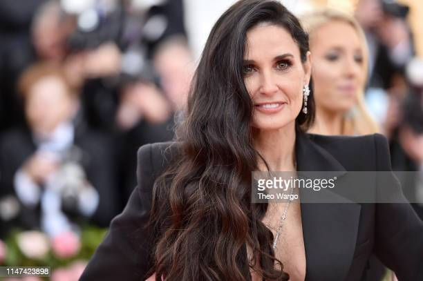 Demi Moore attends The 2019 Met Gala Celebrating Camp Notes on Fashion at Metropolitan Museum of Art on May 06 2019 in New York City