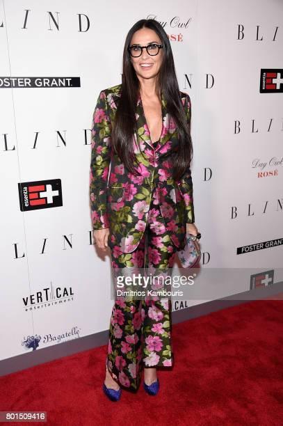 Demi Moore attends the 'Blind' premiere at Landmark Sunshine Cinema on June 26 2017 in New York City