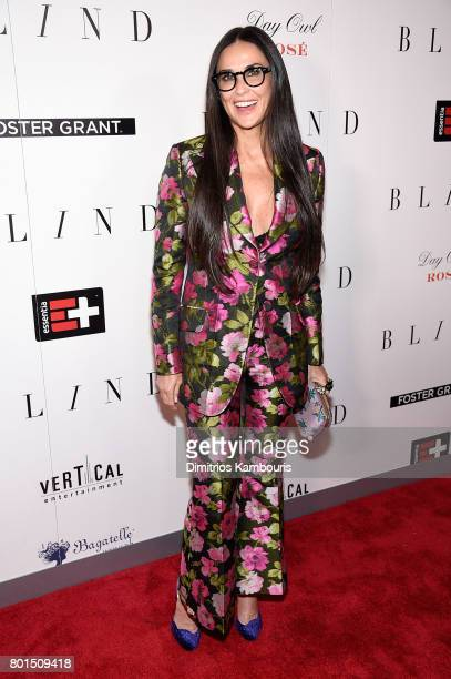 Demi Moore attends the 'Blind' premiere at Landmark Sunshine Cinema on June 26 2017 in New York City