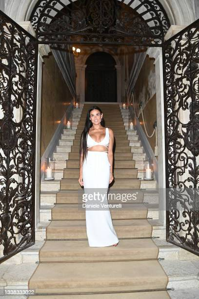 Demi Moore attends the Celebration of Women in Cinema Gala hosted by The Red Sea Film Festival during the 78th Venice International Film Festival on...