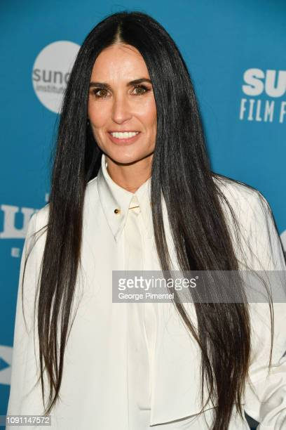 Demi Moore attends the 'Corporate Animals' Premiere during the 2019 Sundance Film Festival at Eccles Center Theatre on January 29 2019 in Park City...
