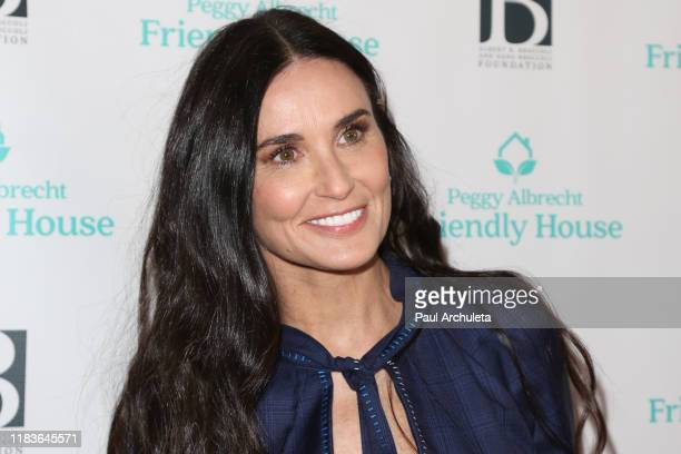 Demi Moore attends the 'Friendly House' 30th annual awards luncheon at The Beverly Hilton Hotel on October 26, 2019 in Beverly Hills, California.