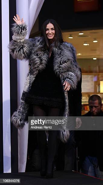 Demi Moore attends the photo call for the Charity Gala of Demi Moore and Ashton Kutcher at PlusCity on October 29 2010 in Pasching near Linz Austria