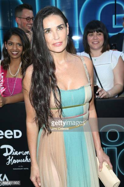 Demi Moore attends the world premiere of 'Rough Night' at AMC Loews Lincoln Square 13 on June 12 2017 in New York City