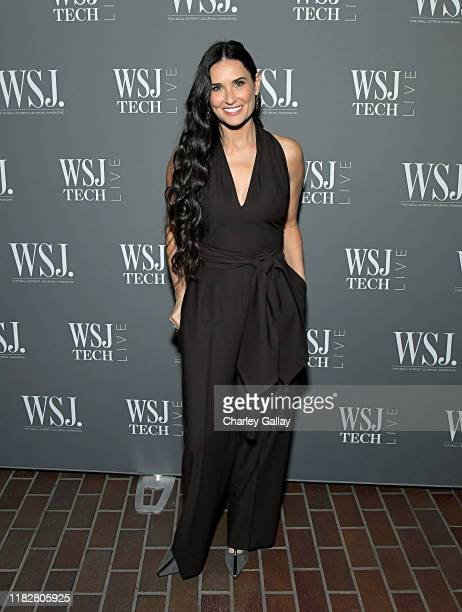 Demi Moore attends WSJ Magazine at WSJ Tech Live at The Montage Laguna Beach on October 22 2019 in Laguna Beach California