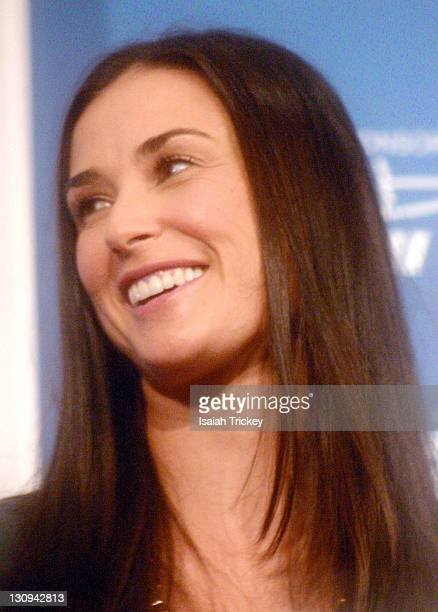 Demi Moore during 31st Annual Toronto International Film Festival 'Bobby' Press Conference at Sutton Place in Toronto Ontario Canada