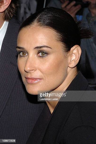 Demi Moore during A Lot Like Love New York City Premiere at Clearview Chelsea West Cinema in New York City New York United States