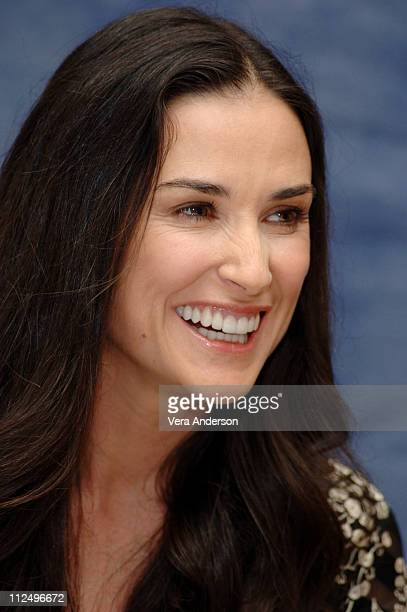 Demi Moore during 'Bobby' Press Conference with Demi Moore Sharon Stone Freddy Rodriguez and Emilio Estevez at Regent Beverly Wilshire Hotel in...