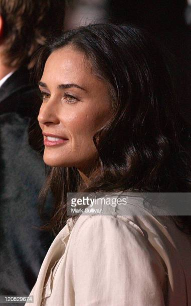Demi Moore during 'Guess Who' Los Angeles Premiere Arrivals at Graumann's Chinese in Los Angeles California United States
