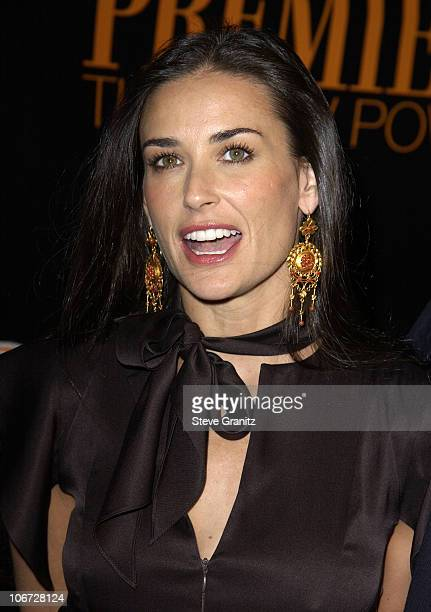 Demi Moore during Premiere's The New Power Event Celebrates Hollywood Power Players Under The Age Of 35 at Ivar in Hollywood California United States