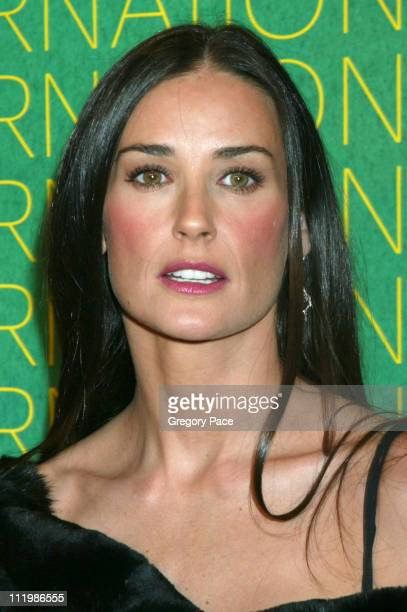 Demi Moore during The Fashion Group International Presents The 20th Annual Night of Stars at Cipriani 42nd Street in New York City New York United...