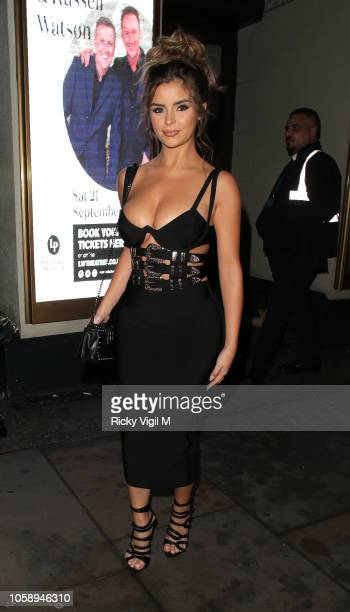 Demi Rose at Carl Silverstone Demi Rose's Party at The Toy Room on November 7 2018 in London England