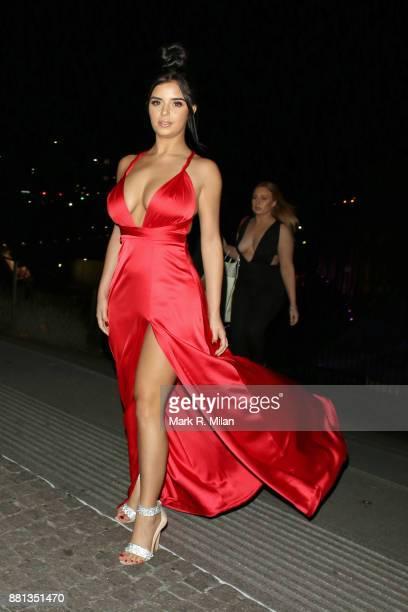 Demi Rose attending the The OK Beauty Awards on November 28 2017 in London England