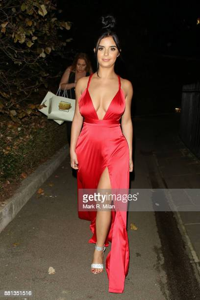 Demi Rose attending the The OK Beauty Awards on November 28 2017 in London England