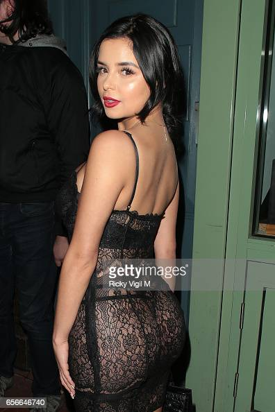 Tygas Ex Girlfriend Demi Rose Leaves Little To The